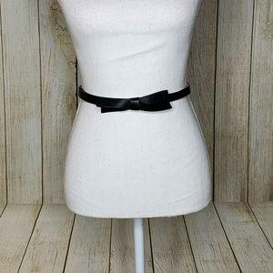 Kate Spade Thin Bow Belt